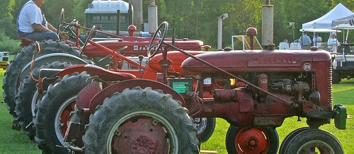 4th of July Festival – Old tractor/steam engine show