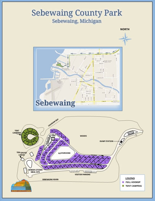 sebewaing-map