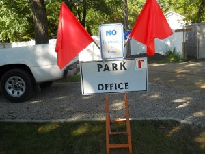 parkoffice sign