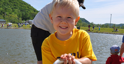 Michigan's Free Fishing Weekend 2015