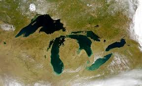 How do we know the height of the Great Lakes?